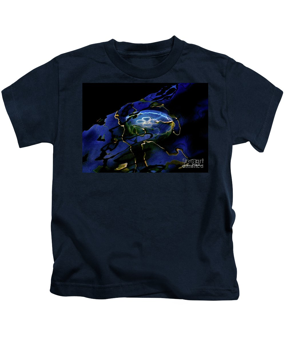 Oddysea Kids T-Shirt featuring the photograph Oddysea by Lisa Renee Ludlum