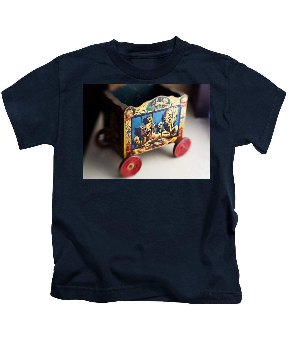 Americana Kids T-Shirt featuring the photograph Old Toy by Marilyn Hunt