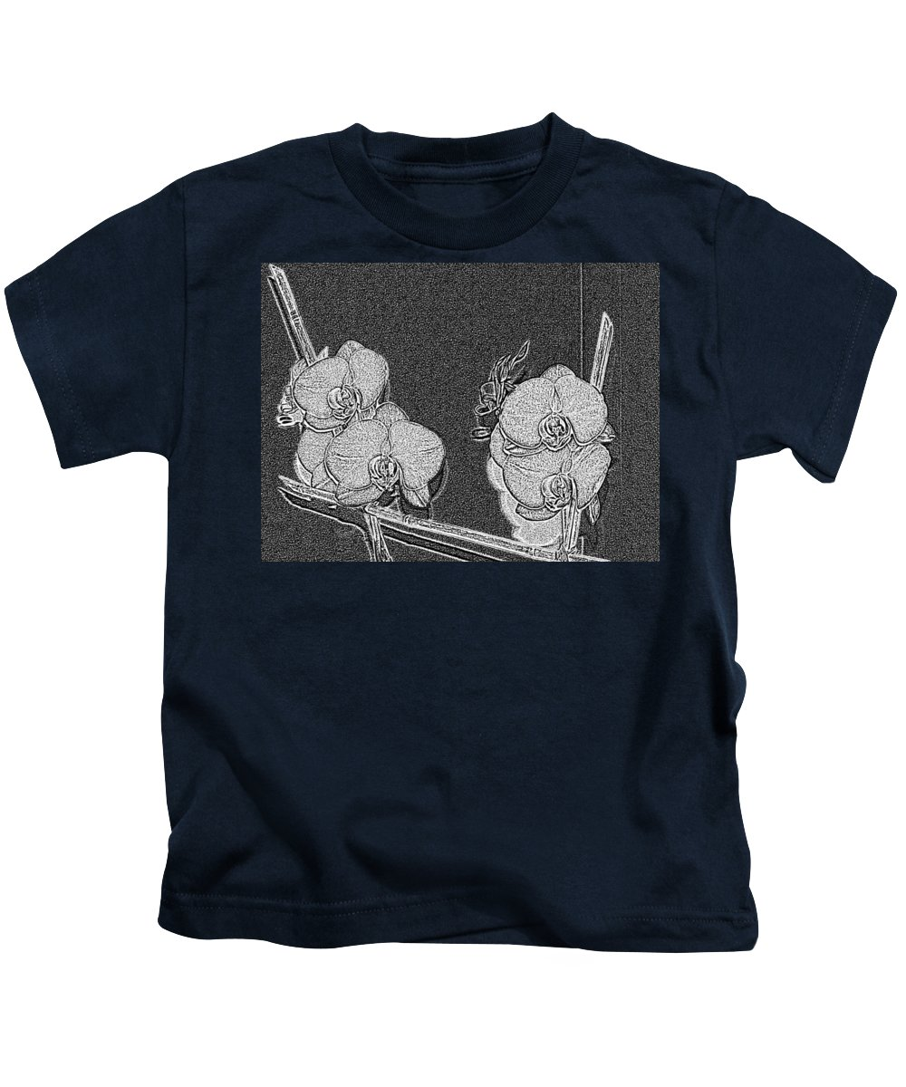 Orchid Kids T-Shirt featuring the photograph Orchid 3 by Tim Allen