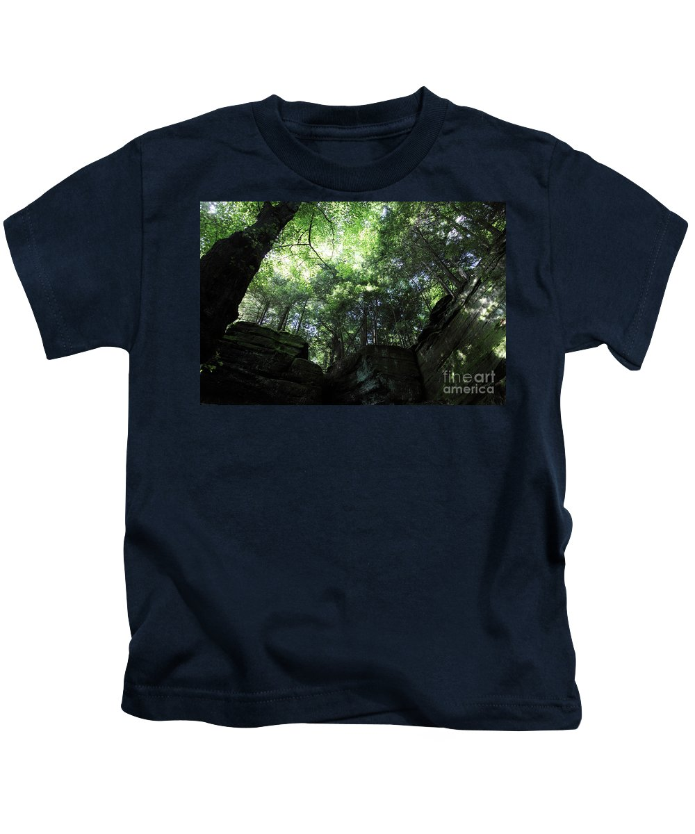 Nature Kids T-Shirt featuring the photograph Peace All Around by Amanda Barcon