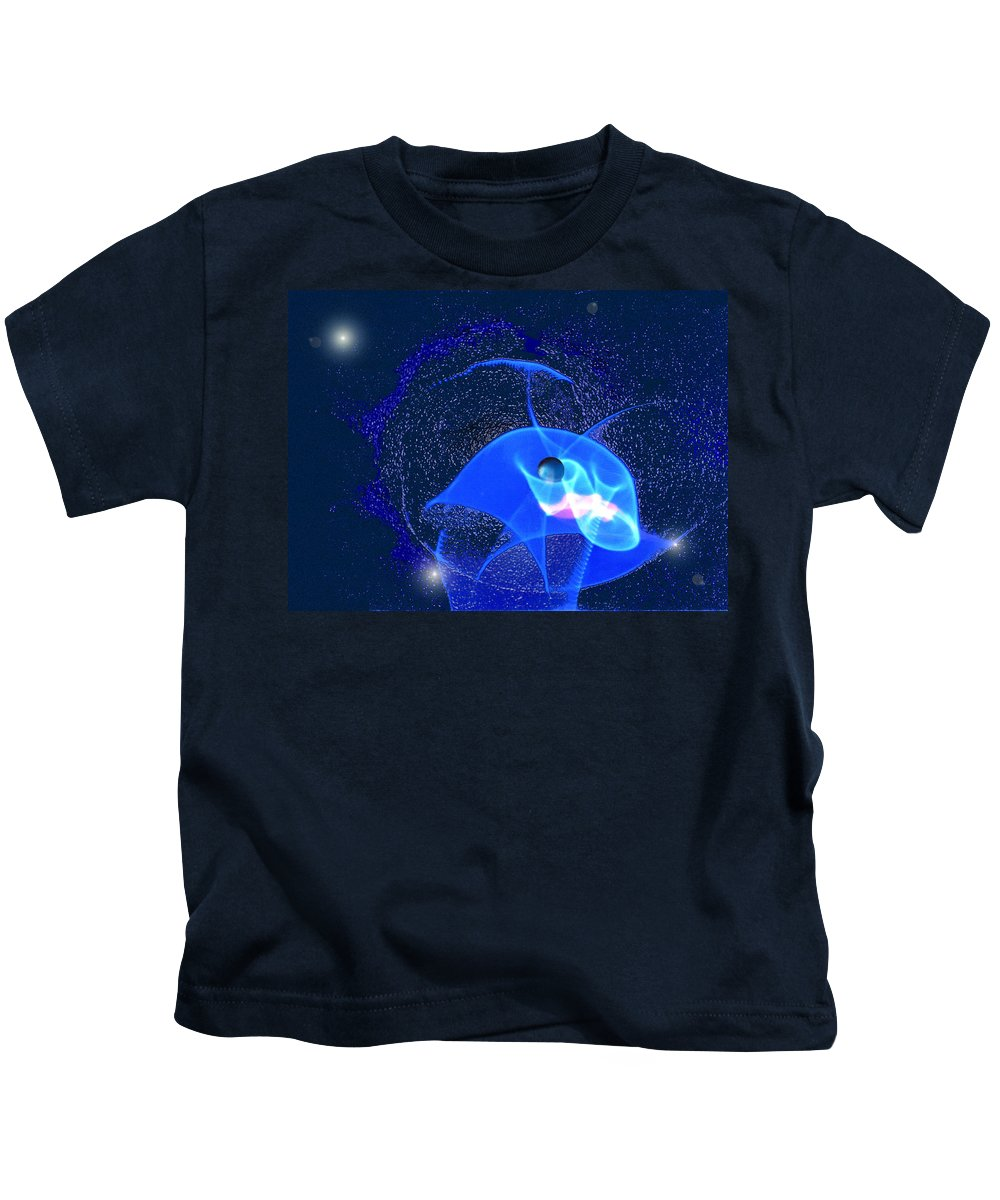 Space Kids T-Shirt featuring the digital art Phenomenon by Steve Karol