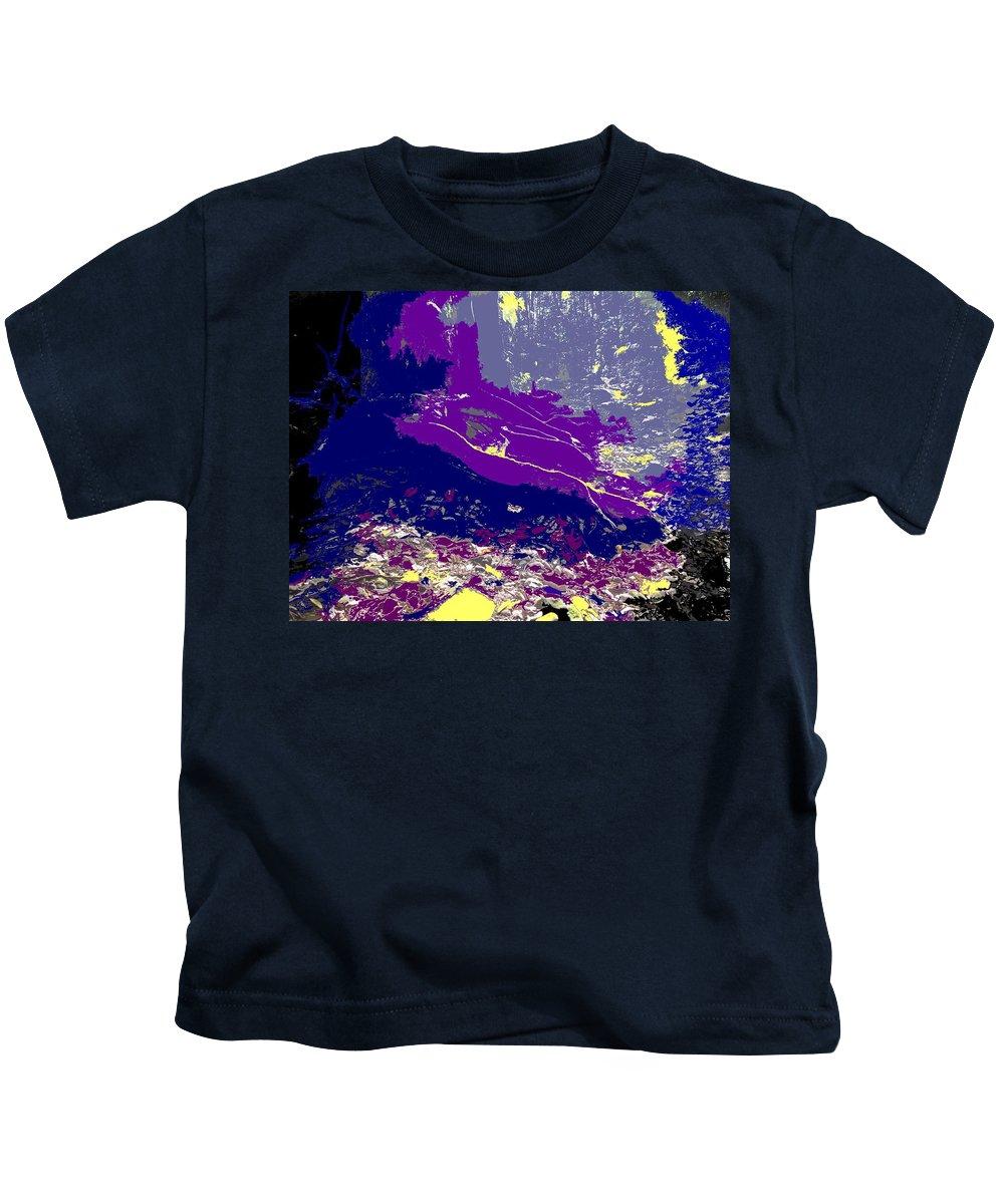 Rainforest Kids T-Shirt featuring the photograph Rainforest Shadows by Ian MacDonald