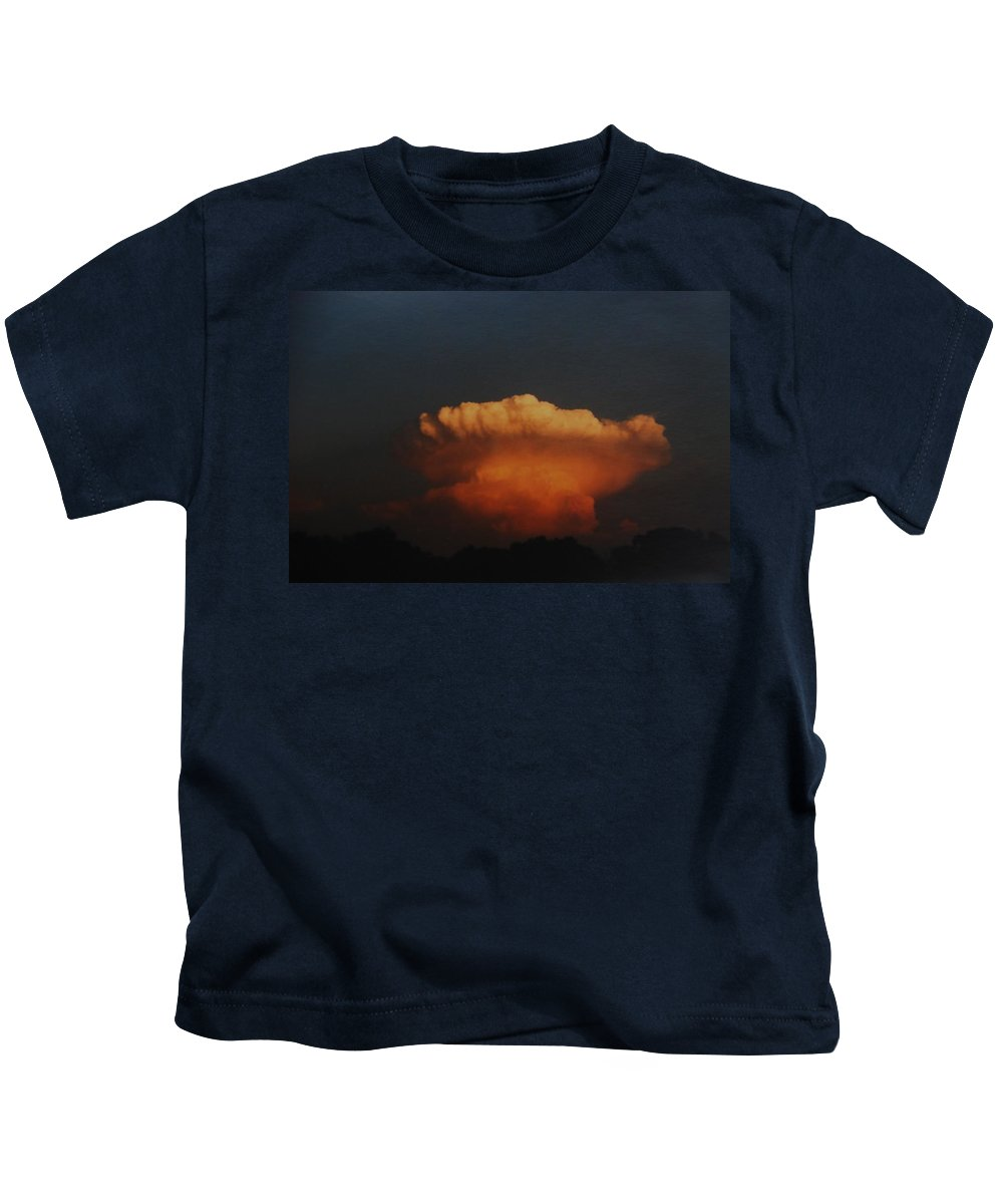 Clouds Kids T-Shirt featuring the photograph Red Cloud by Rob Hans