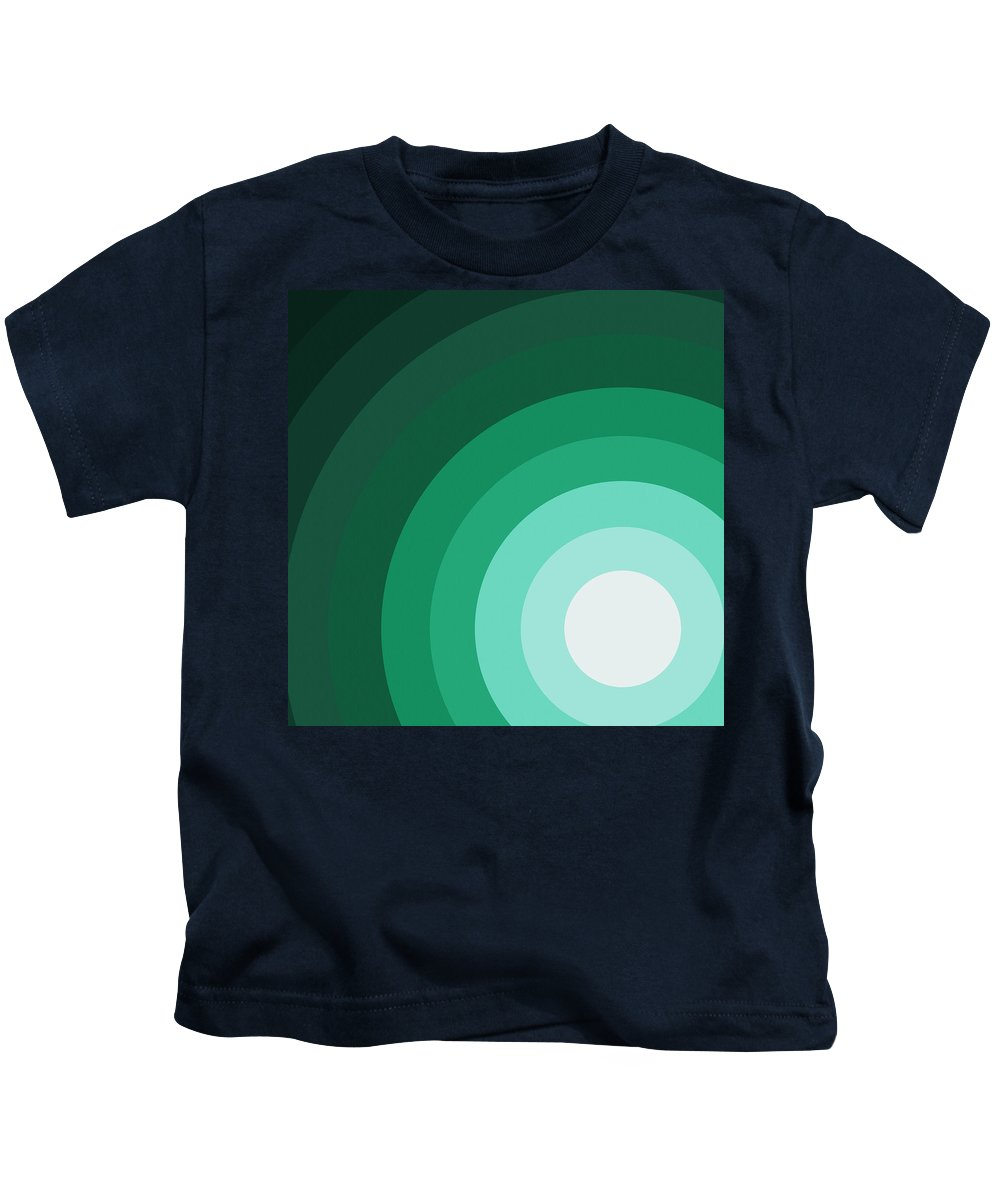 Surreal Kids T-Shirt featuring the painting Rist Action by Oliver Johnston