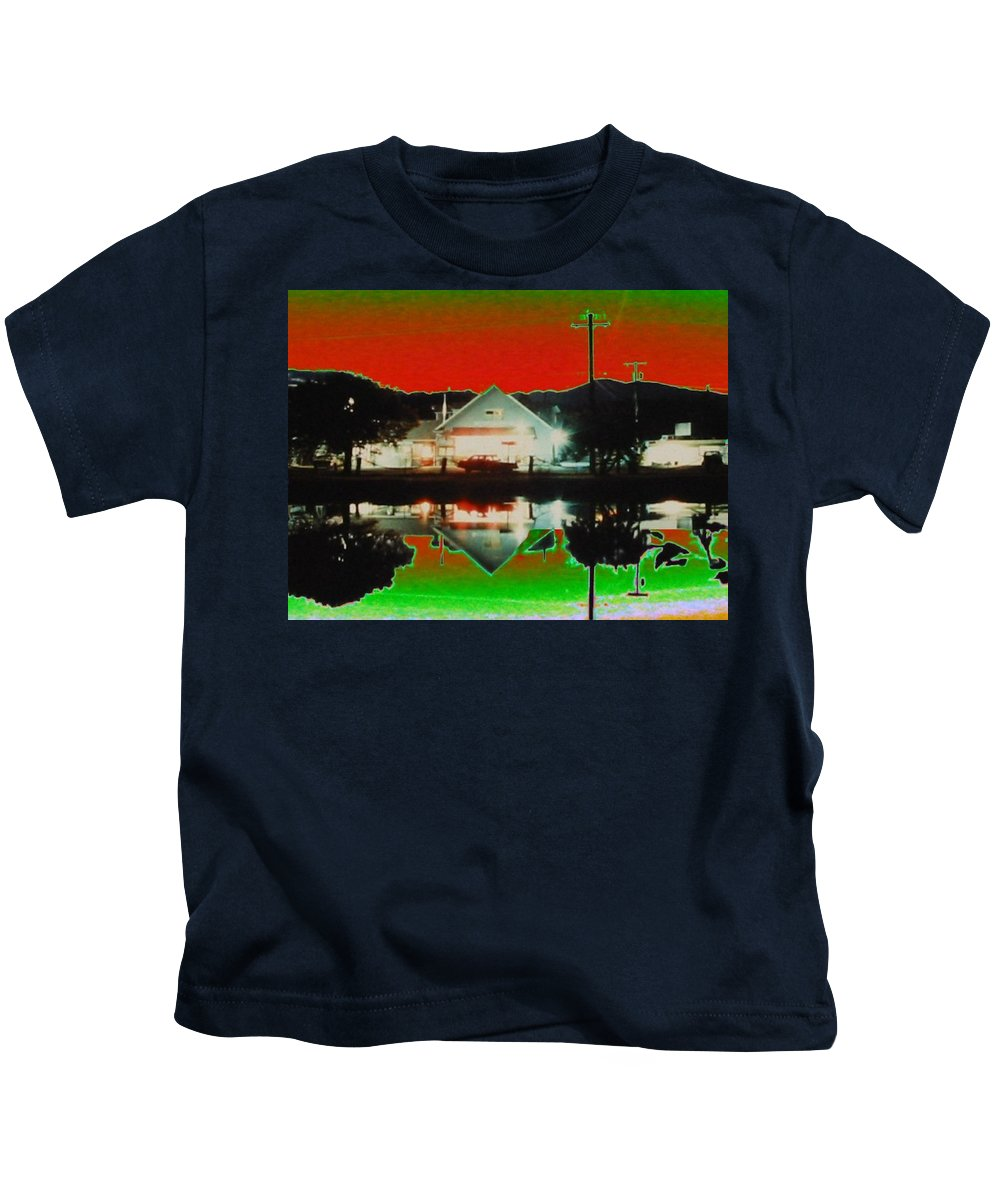 Seabeck Kids T-Shirt featuring the photograph Seabeck General Store by Tim Allen