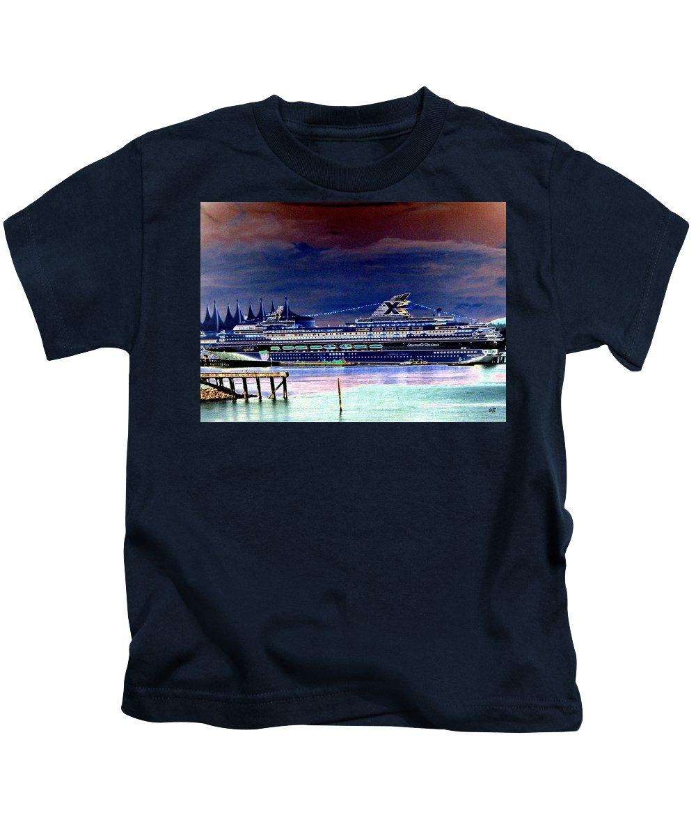Mercury Kids T-Shirt featuring the digital art Shipshape 5 by Will Borden