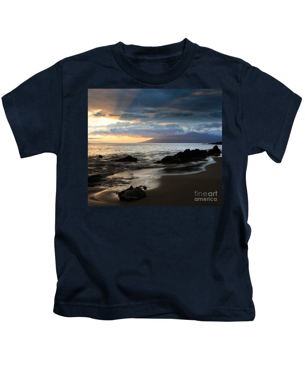 Aloha Kids T-Shirt featuring the photograph Silence Of Devotion by Sharon Mau