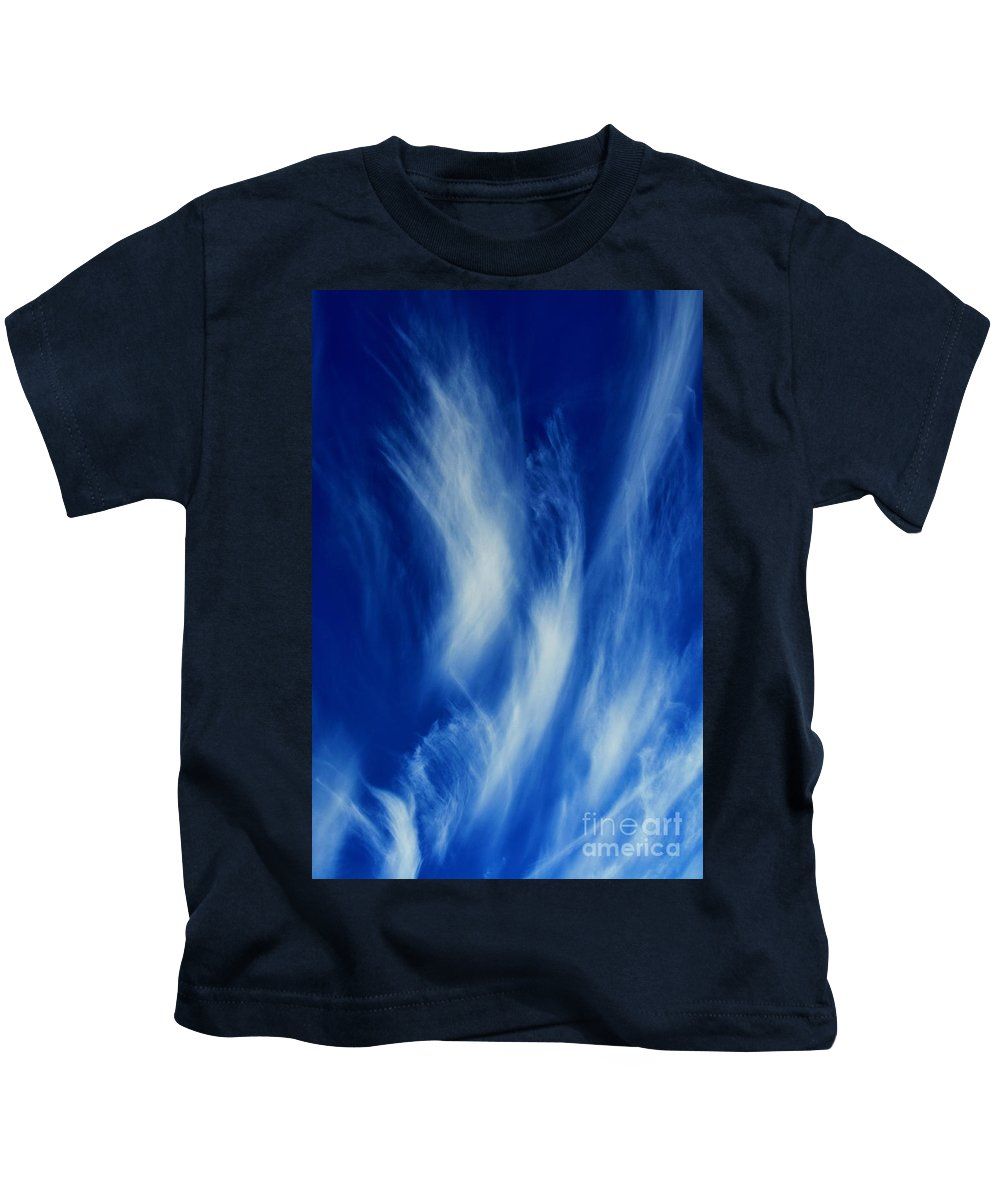 Clay Kids T-Shirt featuring the photograph Sky Sculpting by Clayton Bruster