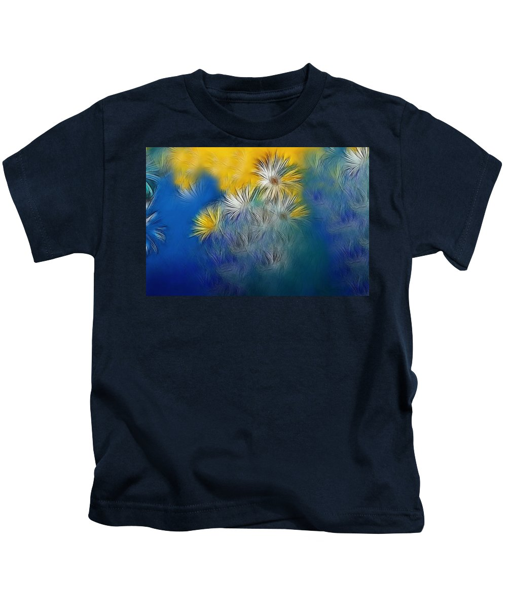 Flower Kids T-Shirt featuring the photograph Soft-flowers by Manfred Lutzius