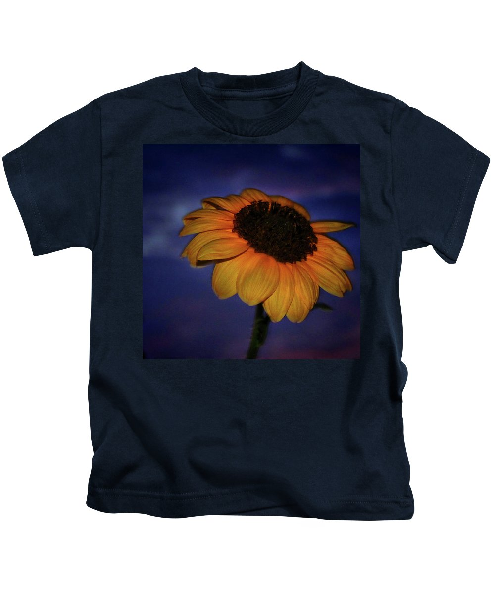 Kids T-Shirt featuring the photograph Southwest Sunflower by Keith Peacock