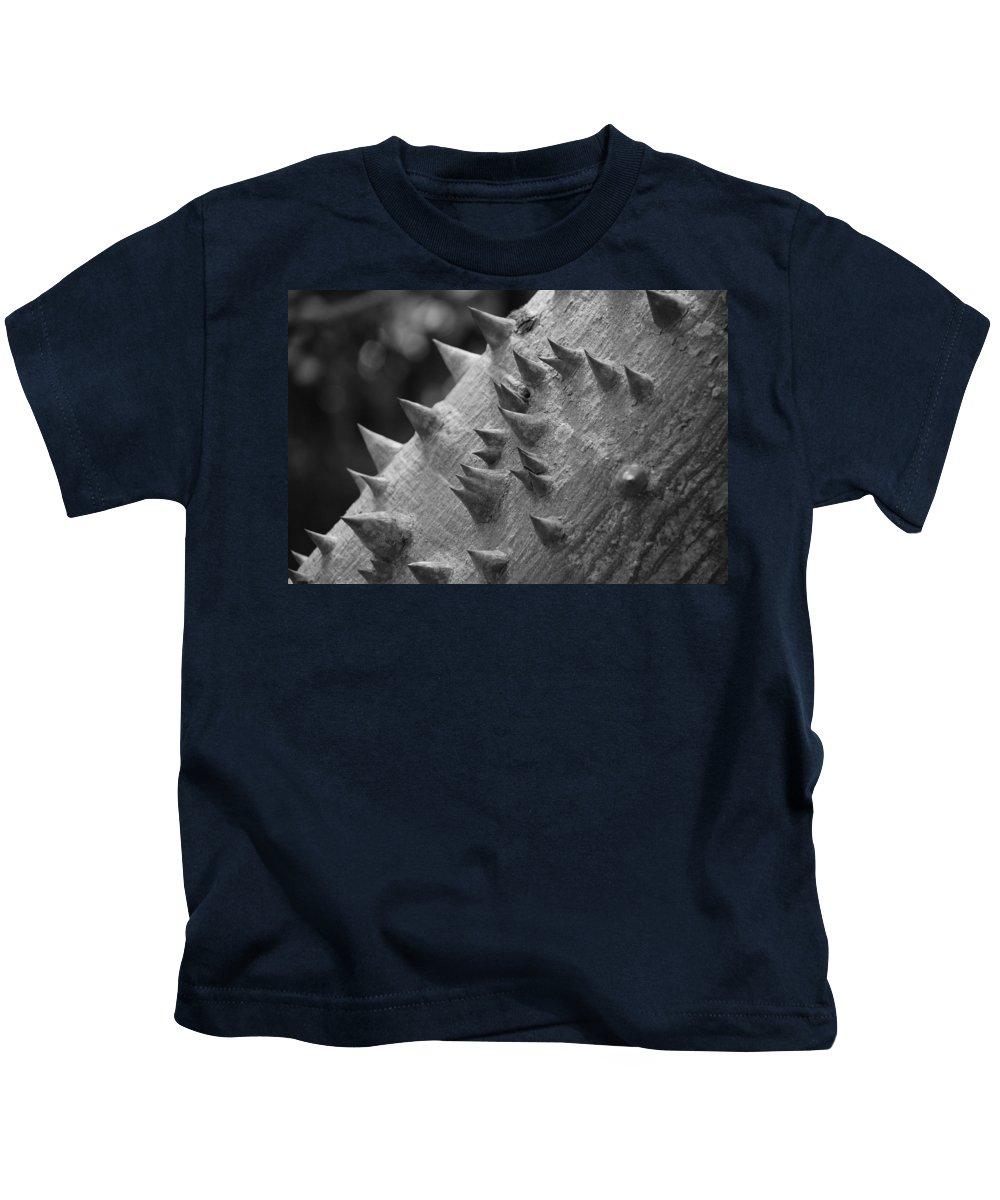 Spike Kids T-Shirt featuring the photograph Spikey Thorny Tree by Rob Hans