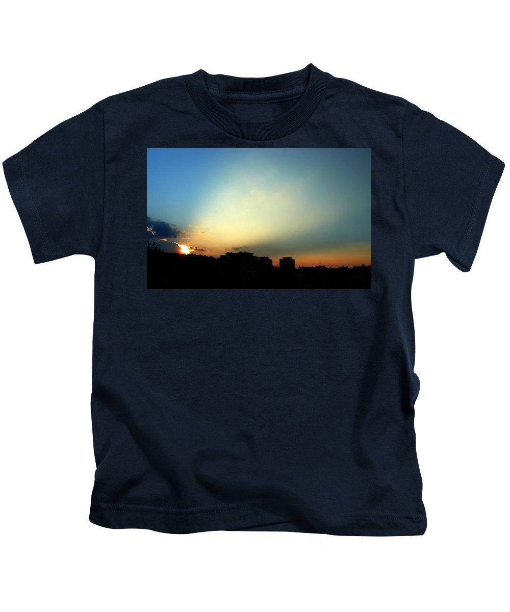 Nature Kids T-Shirt featuring the photograph Spotlight by Daniel Csoka
