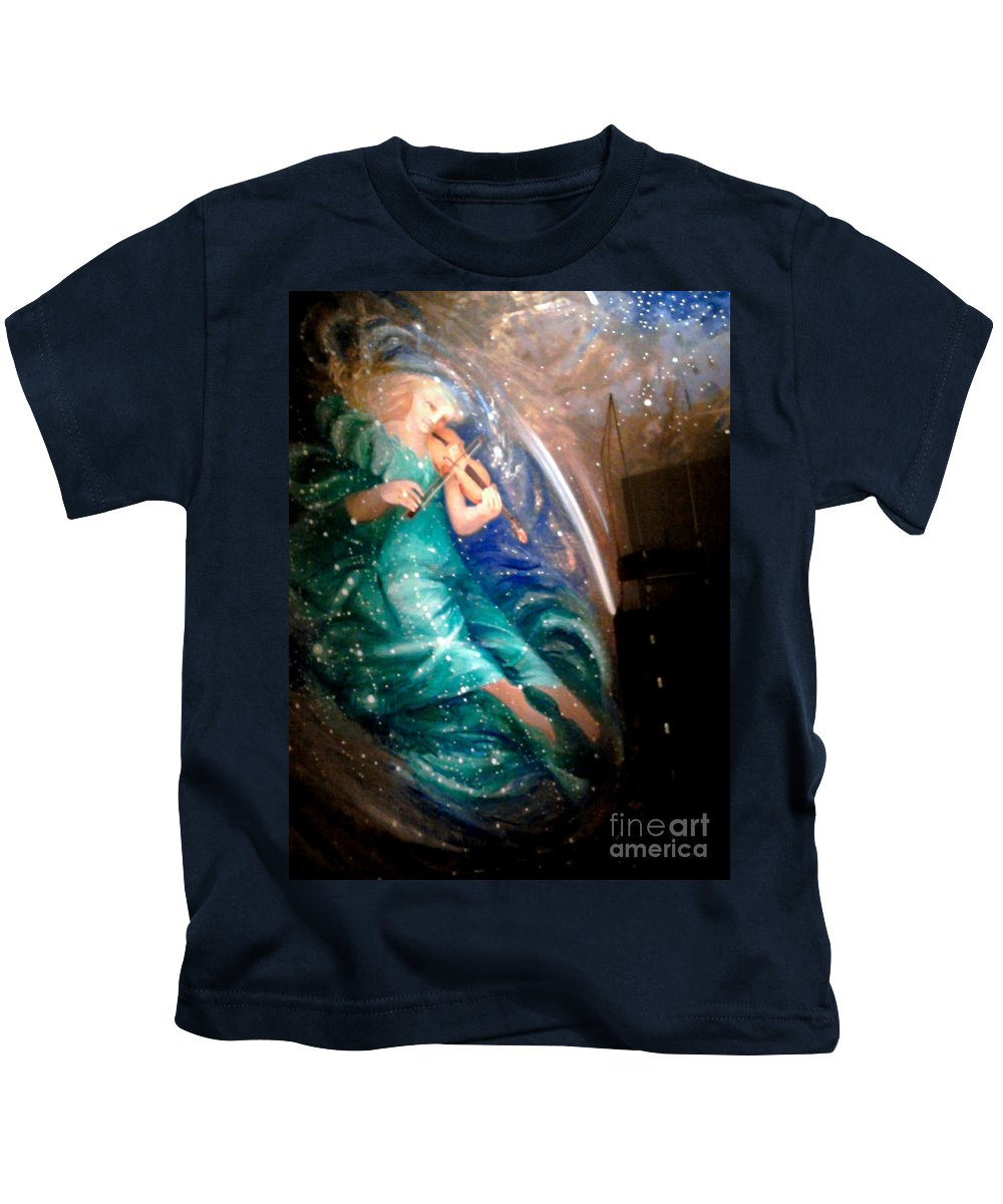 Angel Kids T-Shirt featuring the photograph Stairway To Heaven by Anjanette Douglas