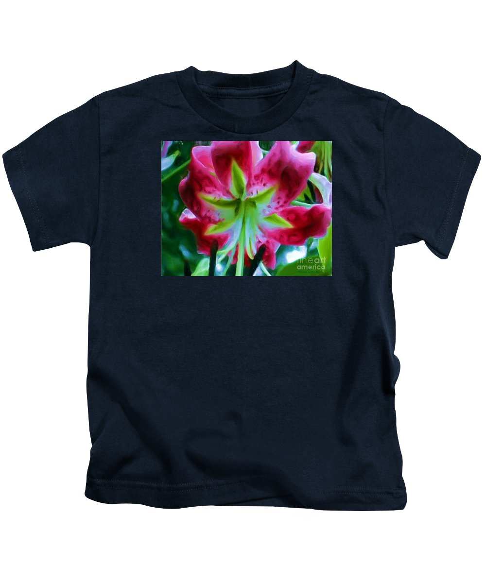Fine Art Photography Kids T-Shirt featuring the photograph Stargazer by Patricia Griffin Brett