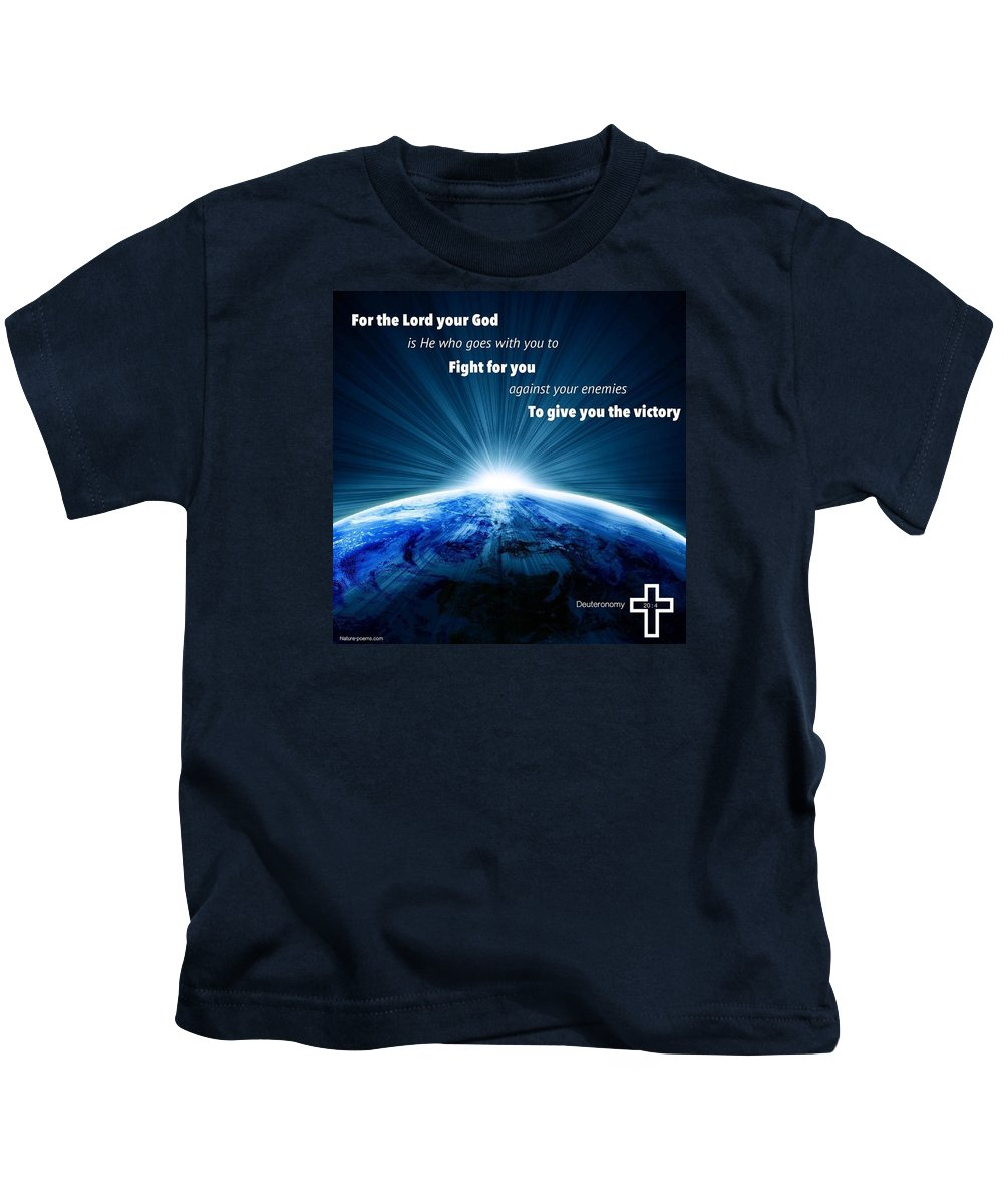 Kids T-Shirt featuring the photograph Strength9 by David Norman