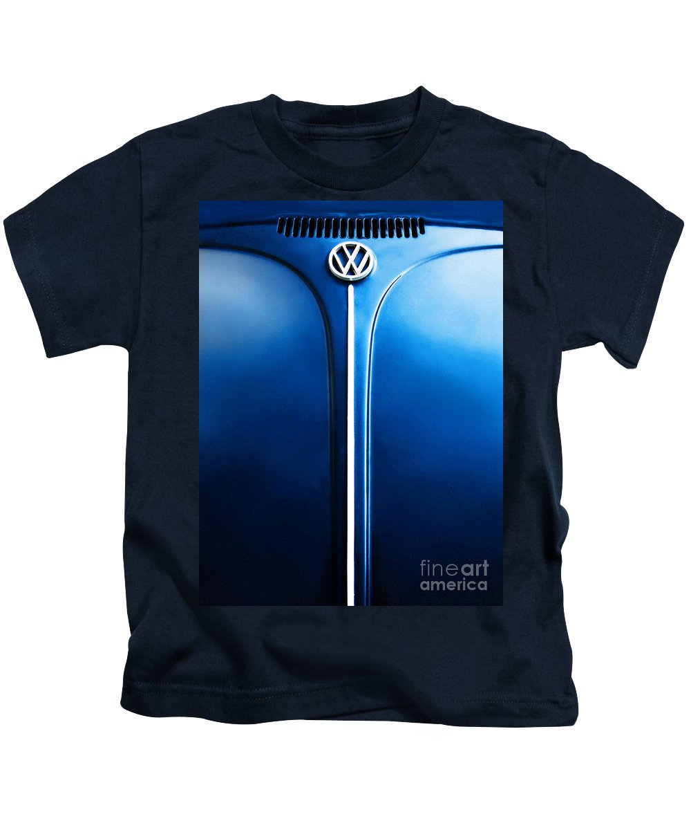 Blue Kids T-Shirt featuring the photograph Summer 1976 by Dana DiPasquale
