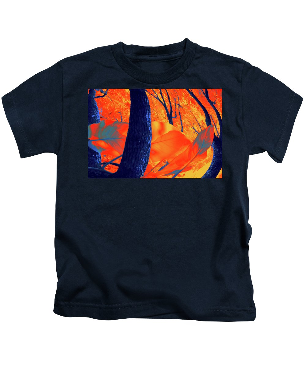 Nature Kids T-Shirt featuring the photograph Surrounded 10 by Gary Bartoloni