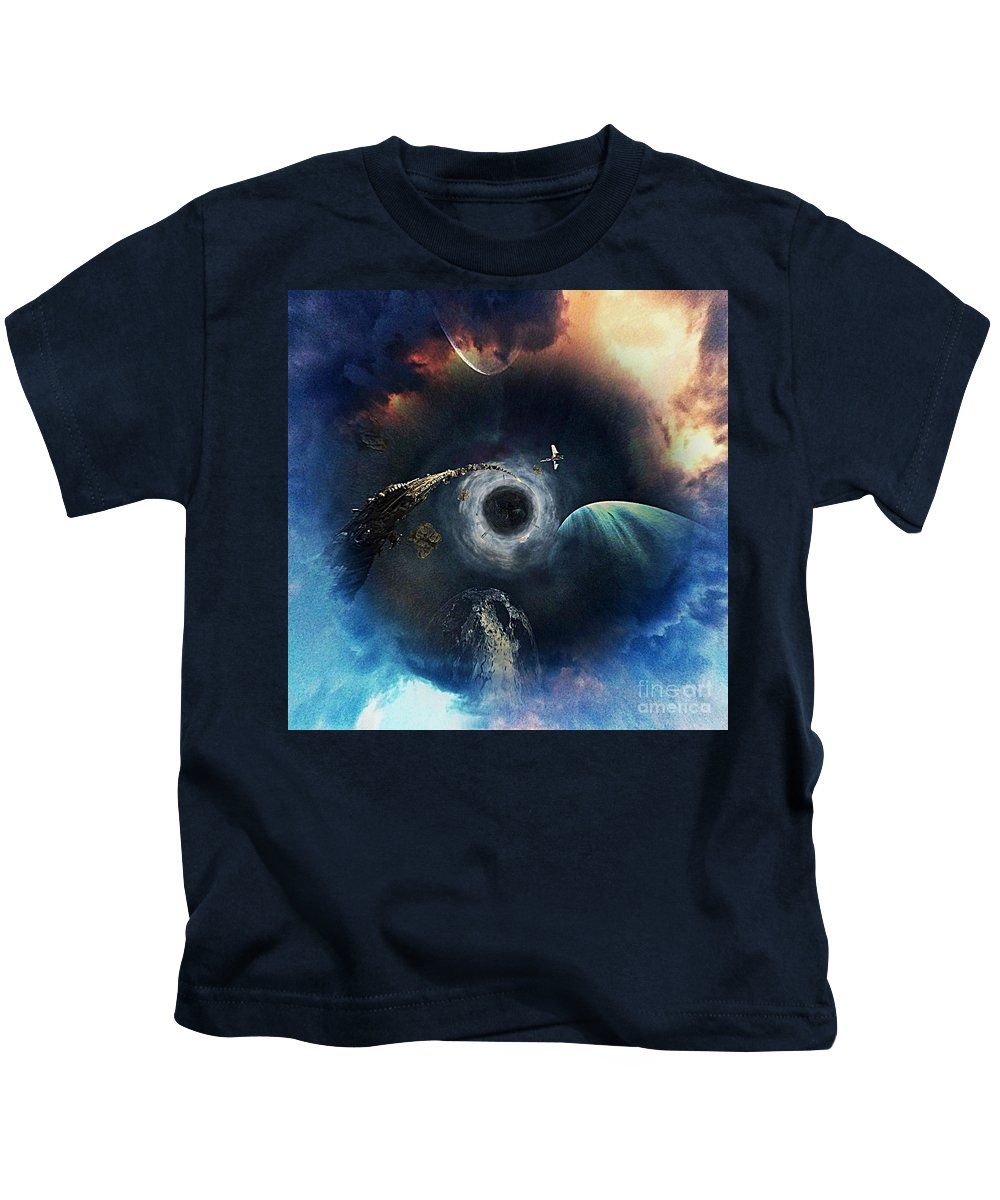 The All Seeing Eye Kids T-Shirt featuring the photograph The All Seeing Eye by Blair Stuart