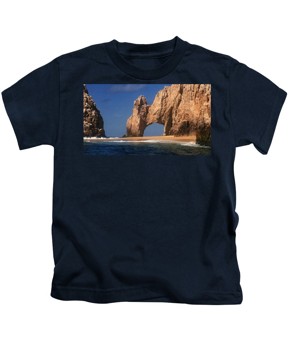 Arch Kids T-Shirt featuring the photograph The Arch by Marna Edwards Flavell