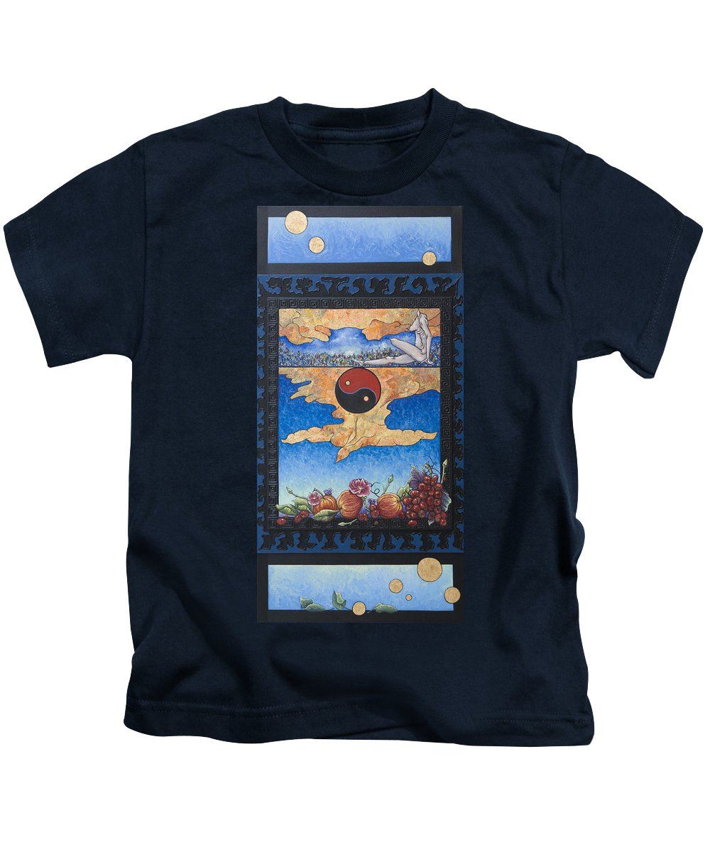 Karma Kids T-Shirt featuring the painting The Dream by Judy Henninger