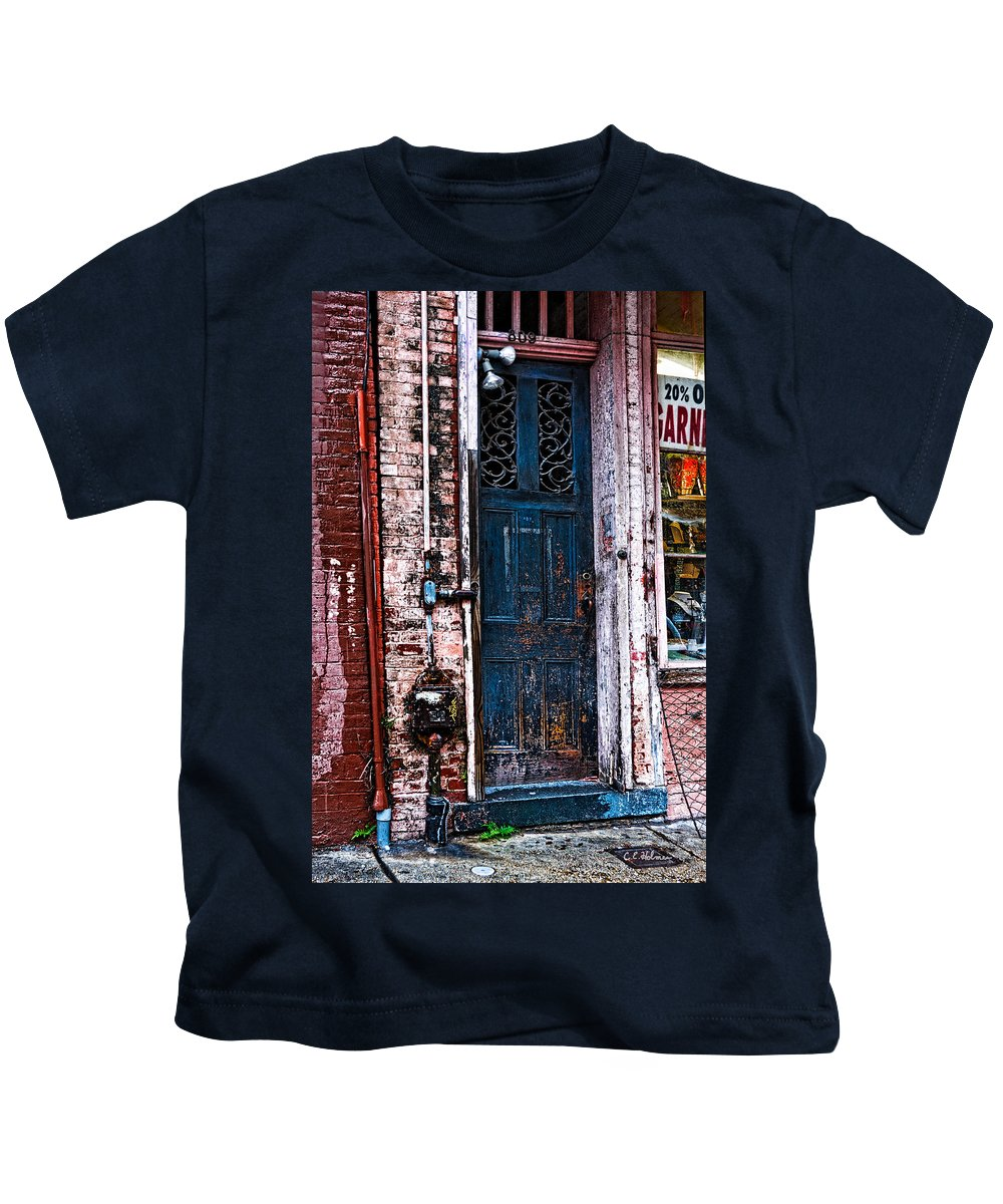 Door Kids T-Shirt featuring the photograph Time Tested by Christopher Holmes