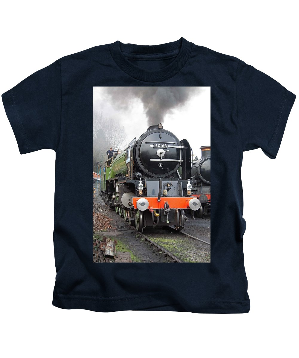 Steam Kids T-Shirt featuring the photograph Tornado Living Steam by Bob Kemp
