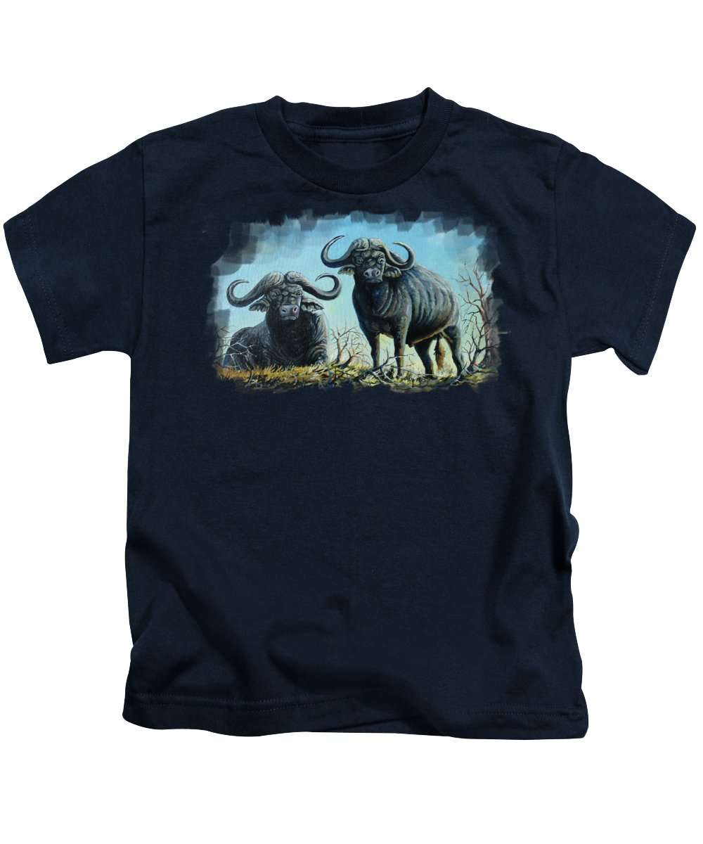 Feeding Paintings Kids T-Shirts
