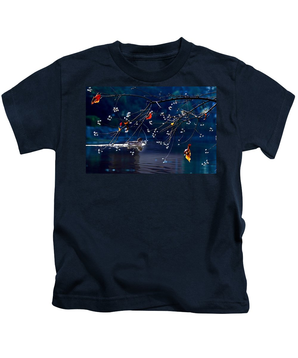 Water Kids T-Shirt featuring the photograph Trees In Japan 5 by George Cabig
