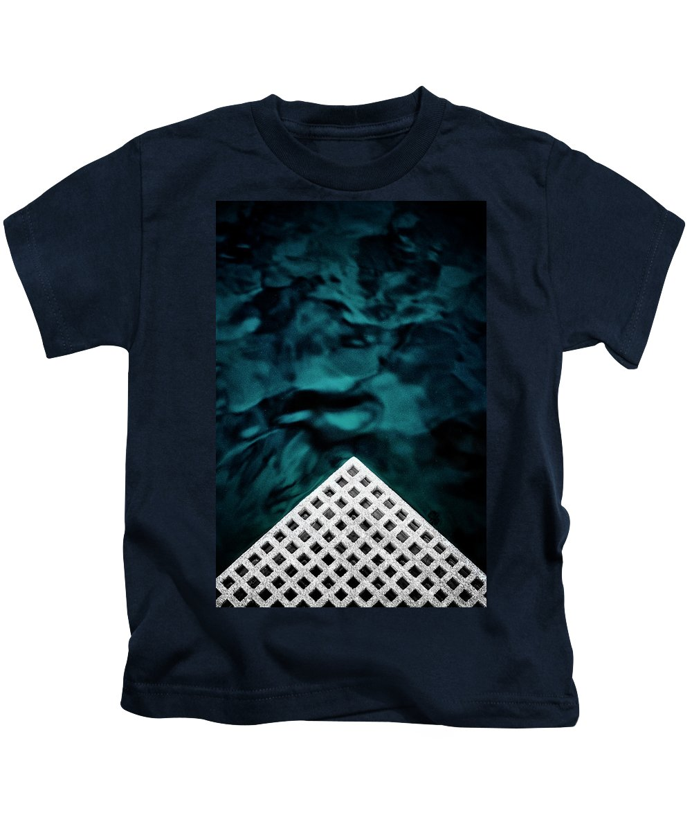 Abstract Kids T-Shirt featuring the photograph Triangular Abstract by Russ Dixon