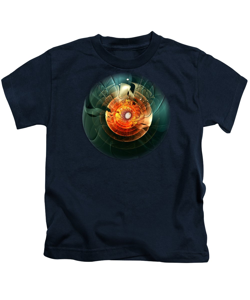 Asleep Kids T-Shirt featuring the digital art Trigger Image by Anastasiya Malakhova