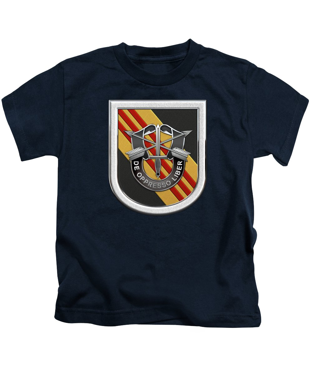 3df7c99e639a5  u.s. Army Special Forces  Collection By Serge Averbukh Kids T-Shirt  featuring the