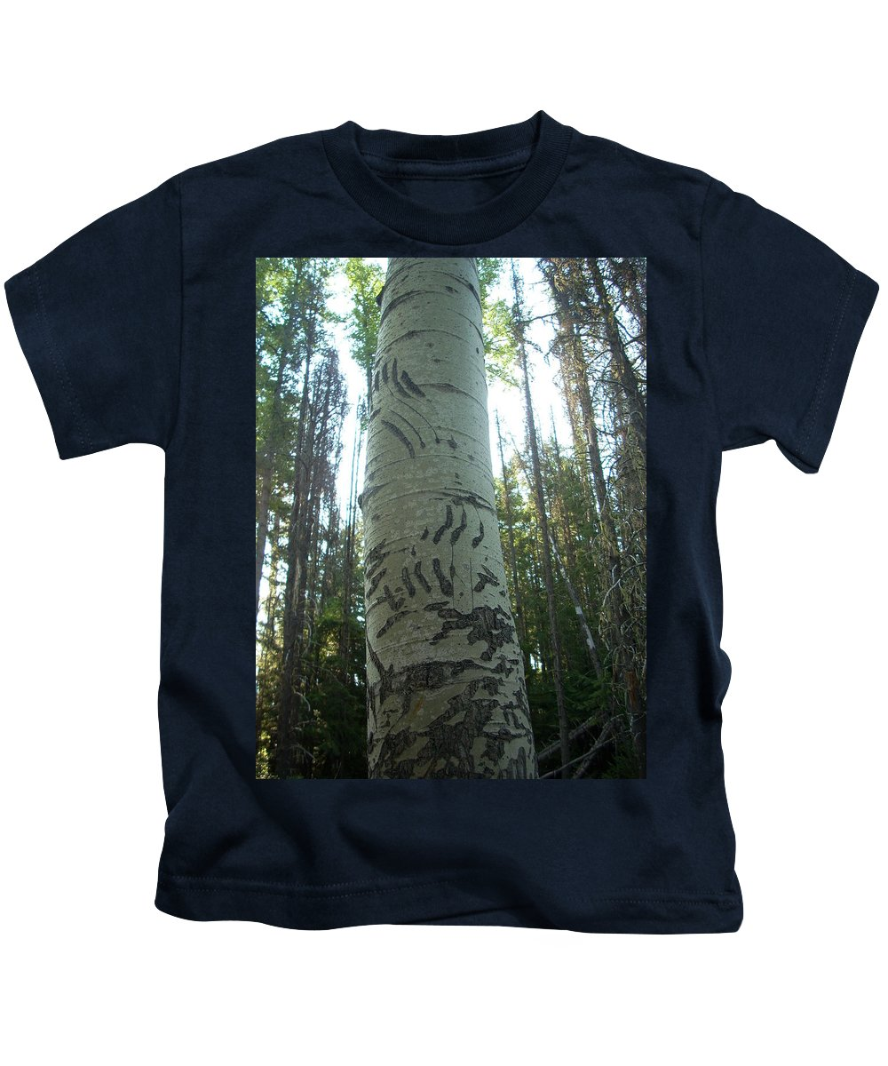 Bear Kids T-Shirt featuring the photograph Unbearable by Sara Stevenson