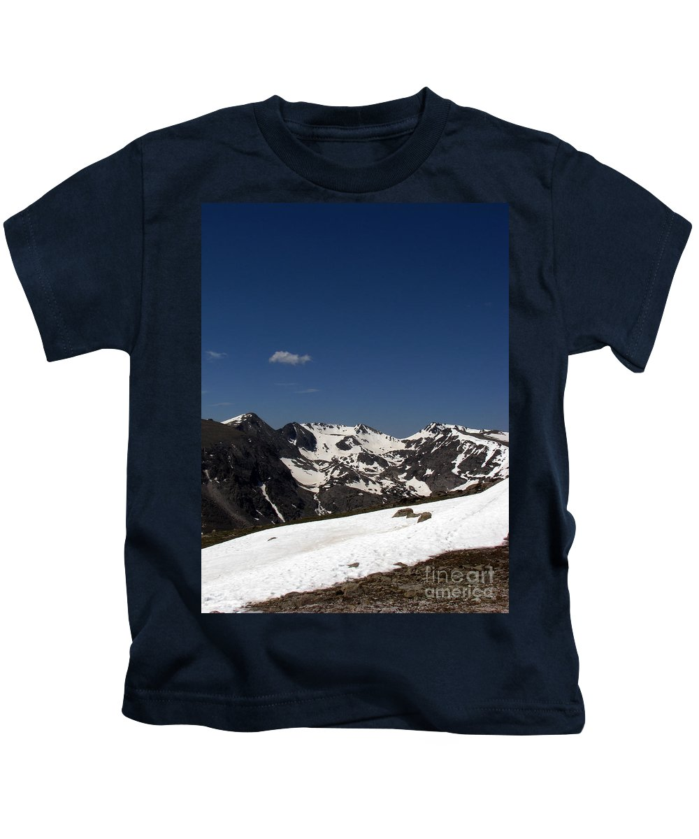 Colorado Kids T-Shirt featuring the photograph Vast Mother by Amanda Barcon