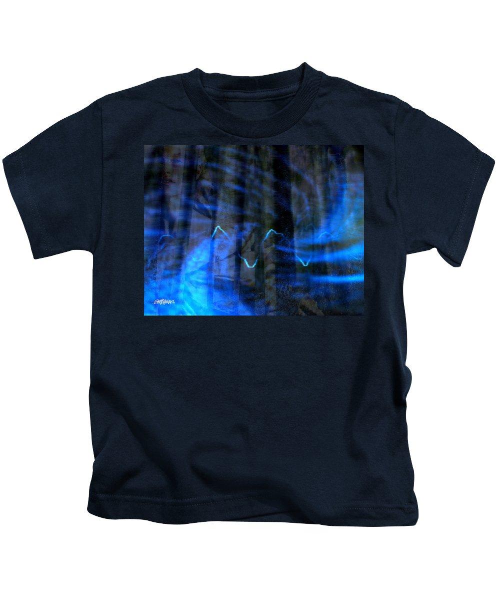 Vivandiere Kids T-Shirt featuring the digital art Vivandiere by Seth Weaver