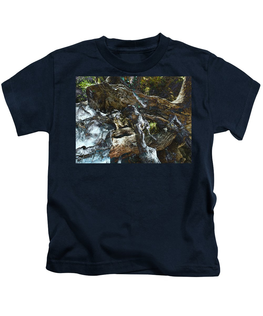 Trees Kids T-Shirt featuring the photograph Washed Away by Kelly Jade King