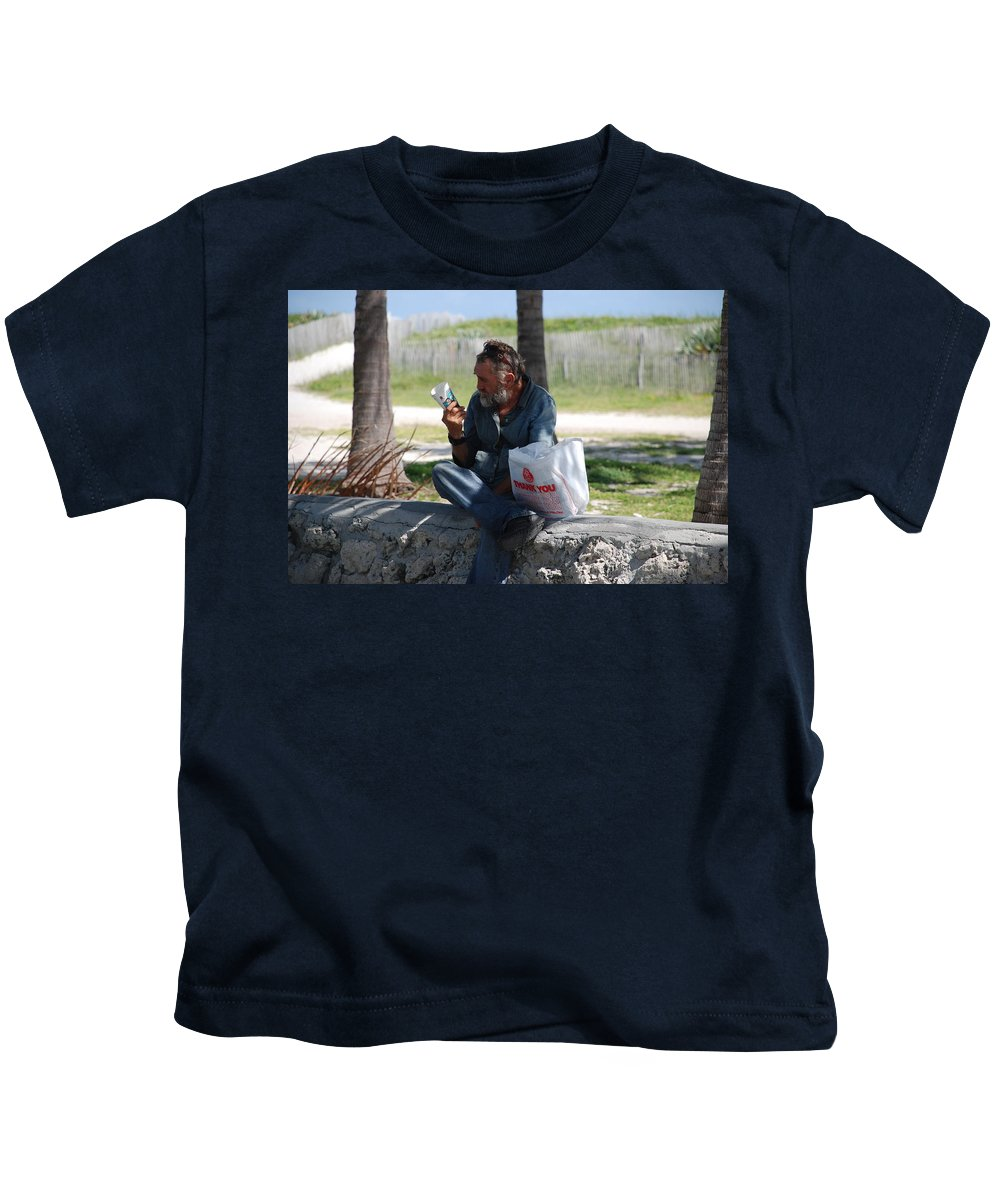 Man Kids T-Shirt featuring the photograph Worldly Posessions by Rob Hans