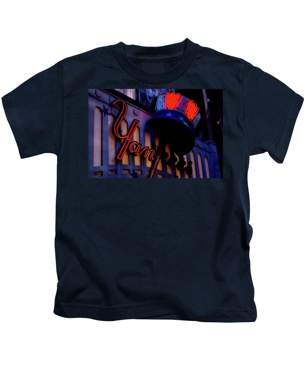 Yankees Kids T-Shirt featuring the photograph Yankee Stadium by Pixabay
