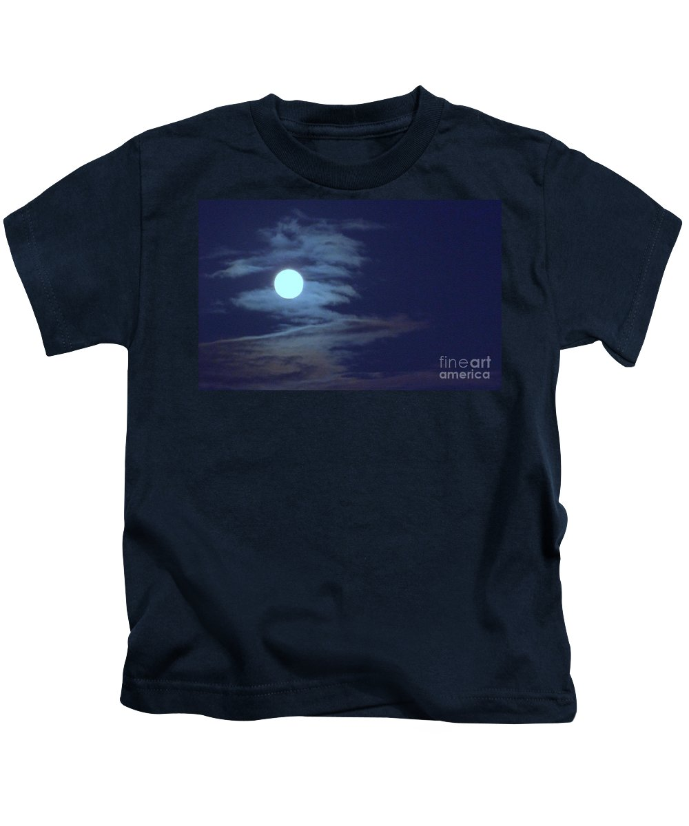 Moon Kids T-Shirt featuring the photograph Zig Zag Moon by Mary Deal