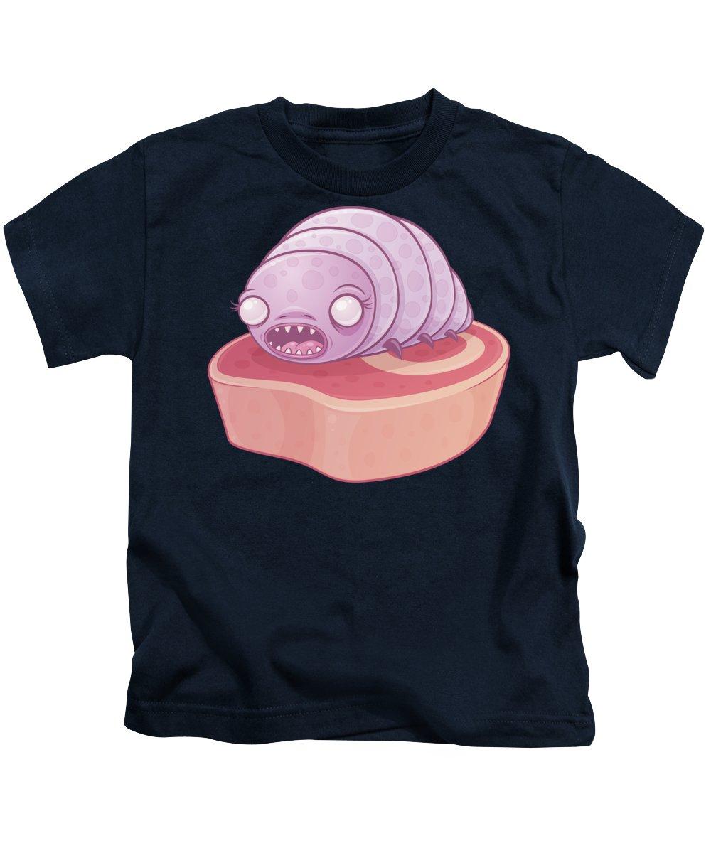 Cute Kids T-Shirt featuring the digital art Maggie by John Schwegel