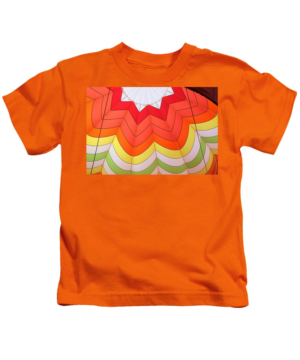 Colors Kids T-Shirt featuring the photograph Balloon Fantasy 15 by Allen Beatty