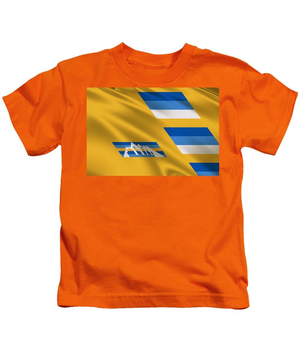 Denver Kids T-Shirt featuring the photograph Denver Nuggets Uniform by Joe Hamilton