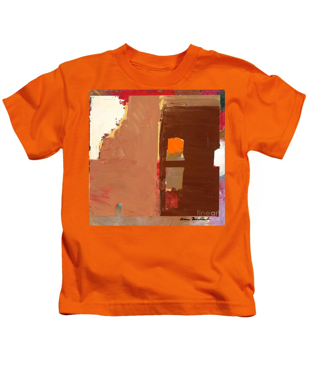 Landscape Kids T-Shirt featuring the painting Jordan Park 512 by Allan P Friedlander