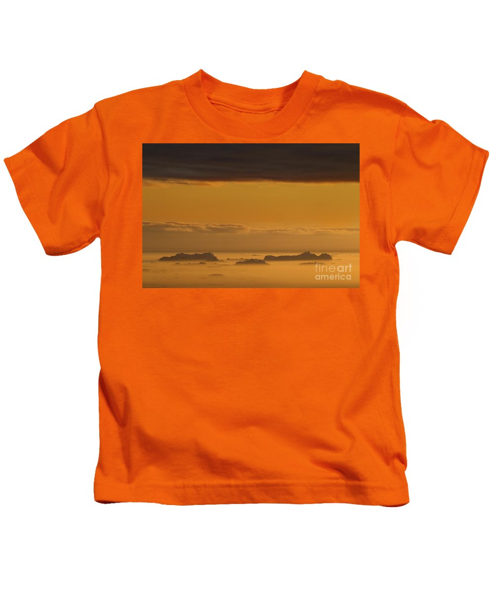 Iceberg Kids T-Shirt featuring the photograph 110307p085 by Arterra Picture Library