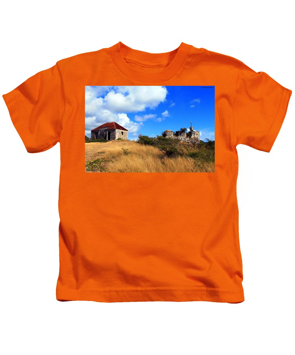 Ft. Amsterdam Kids T-Shirt featuring the photograph Ft. Amsterdam by James Markey