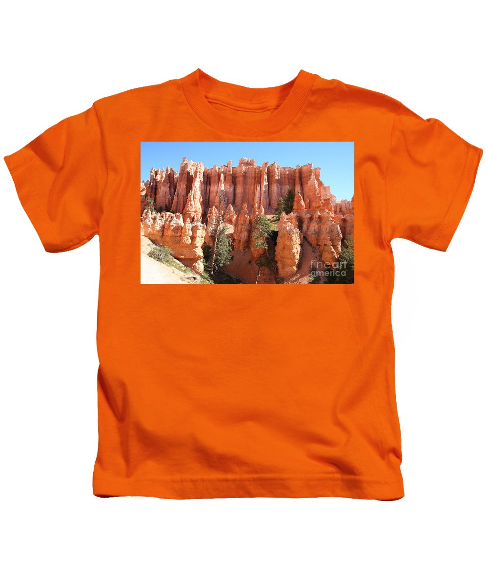 Canyon Kids T-Shirt featuring the photograph Bryce Canyon by Christiane Schulze Art And Photography