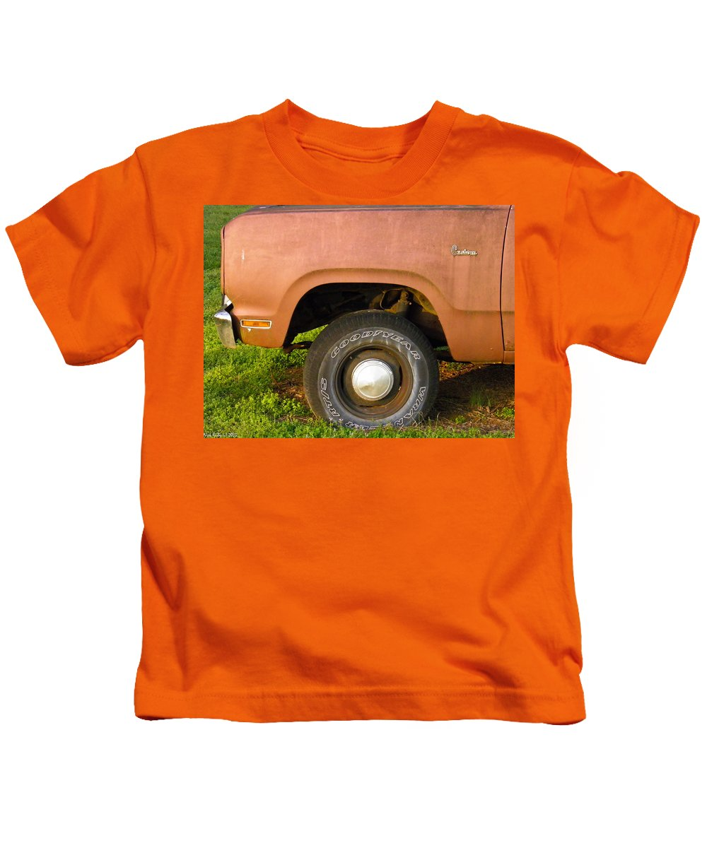 Dodge Kids T-Shirt featuring the photograph 78 Dodge Power Wagon by Nick Kirby