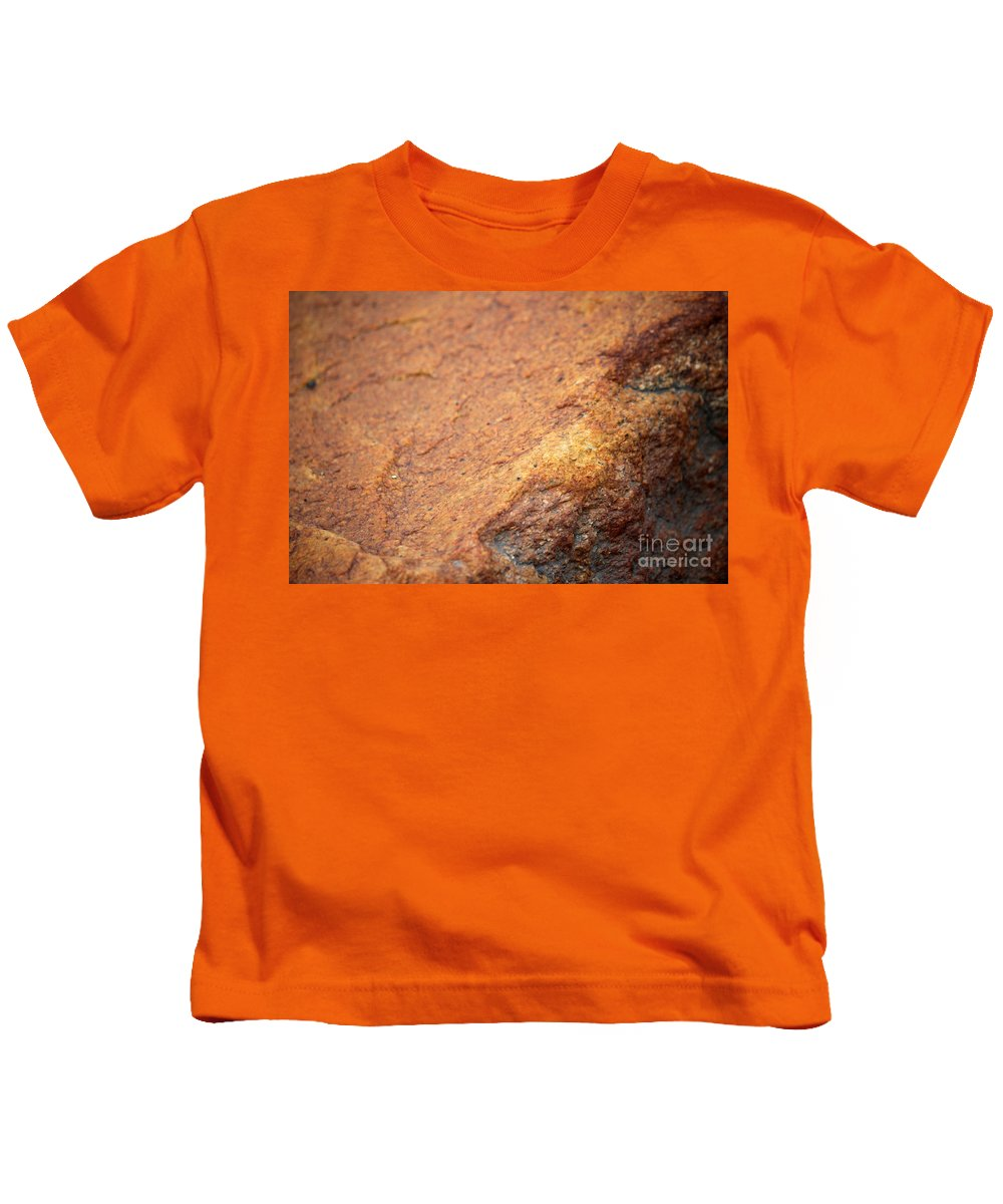 Rock Kids T-Shirt featuring the photograph A Red Rock by Stacey May