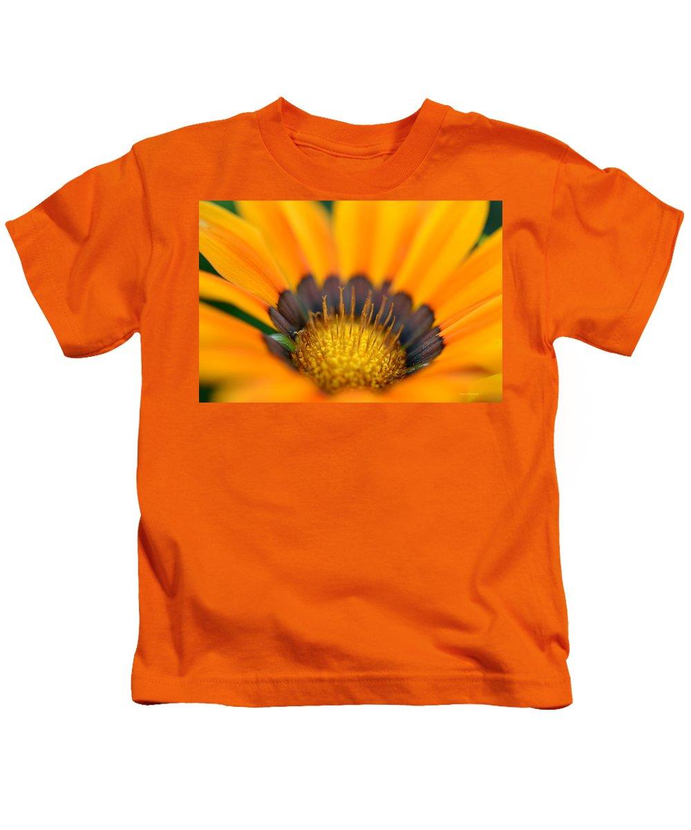 Floral Kids T-Shirt featuring the photograph A Secret Garden by Donna Blackhall