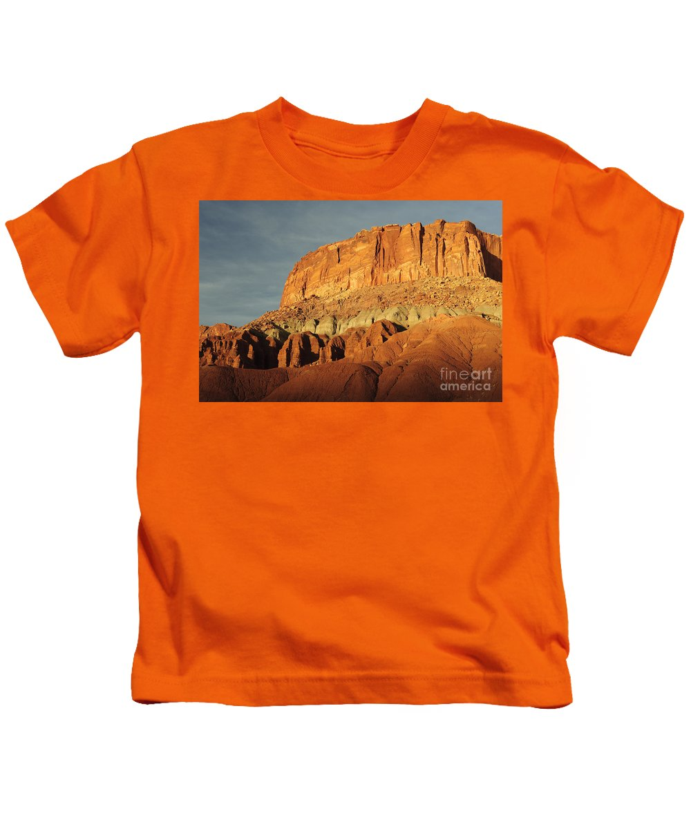 Capitol Reef Kids T-Shirt featuring the photograph Capital Reef National Park by John Shaw
