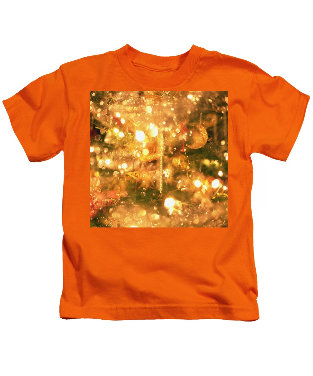 Light Kids T-Shirt featuring the photograph Christmas Lights by Robert Hallmann